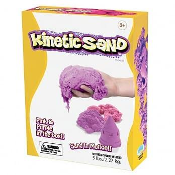 瑞典 Kinetic Sand 粉色和紫色